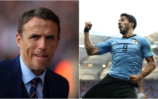 Phil Neville trolled for comment about Uruguay's World Cup hopes