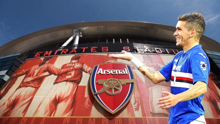 Sampdoria chief confirms Arsenal have secured £26 million deal for Uruguayan midfielder