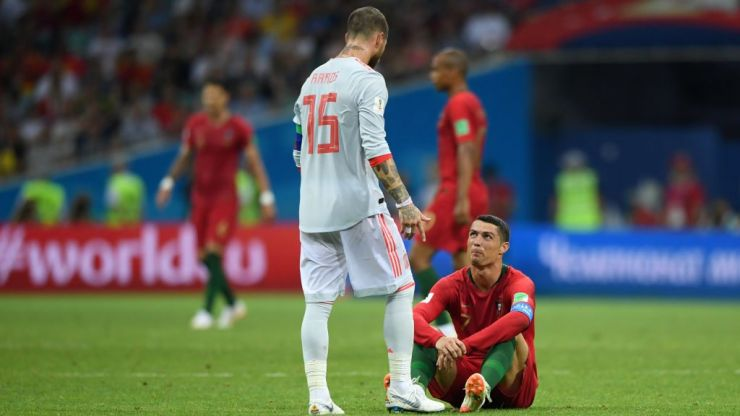 Spain and Portugal could have to flip a coin to decide who finishes top of their group