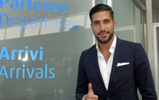 Emre Can set to sign for Juventus after arriving in Turin for medical