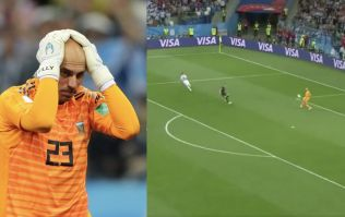 Willy Caballero howler gifts Croatia the lead against Argentina