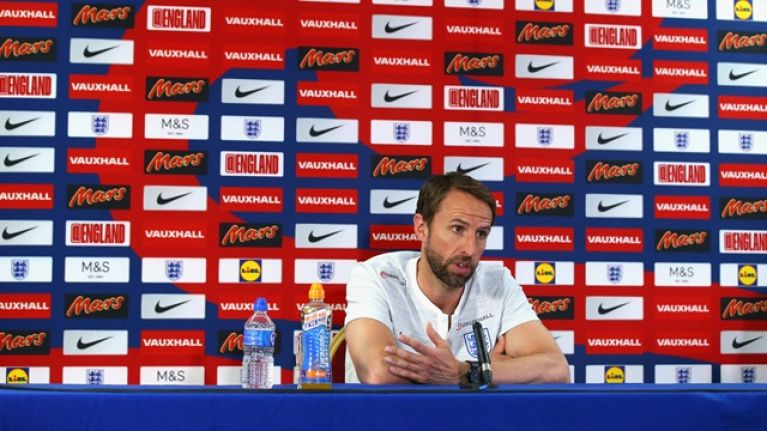 Gareth Southgate doesn't sound happy with the English media