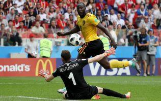 Romelu Lukaku is now an injury doubt for England game
