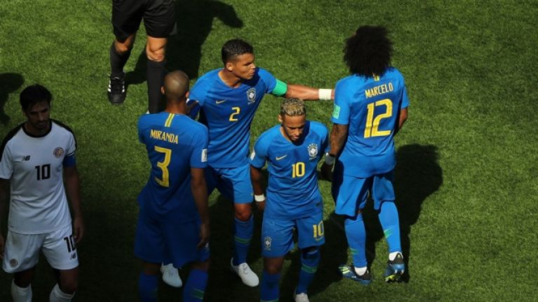 3f65b30286a Thiago Silva was upset by what Neymar did in the 83rd minute of win over  Costa