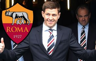 Steven Gerrard closes in on Roma striker as eighth Rangers signing