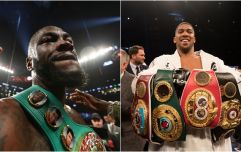 Two contract details are holding up Anthony Joshua vs. Deontay Wilder