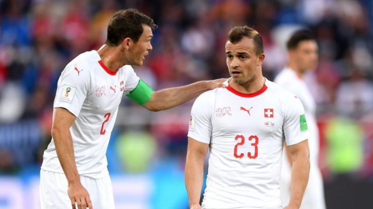 FIFA open disciplinary proceedings against Stefan Lichtsteiner after celebrations against Serbia