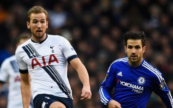 Tottenham fans are livid about what Cesc Fabregas just said about Harry Kane