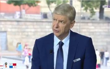 It's safe to say that Arsene Wenger doesn't agree with Kyle Walker's England position
