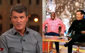 Roy Keane had his fellow pundits in stitches laughing after England comments