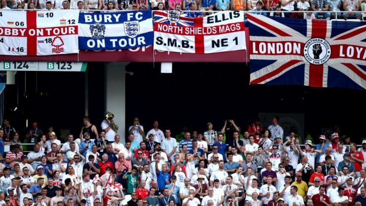 England fans warned that pro-Brexit chants could be punished by FIFA