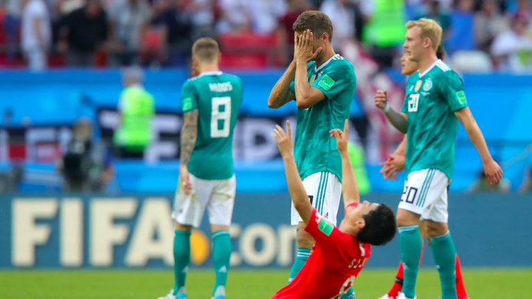 Germany dumped out of the World Cup in the group stage by South Korea