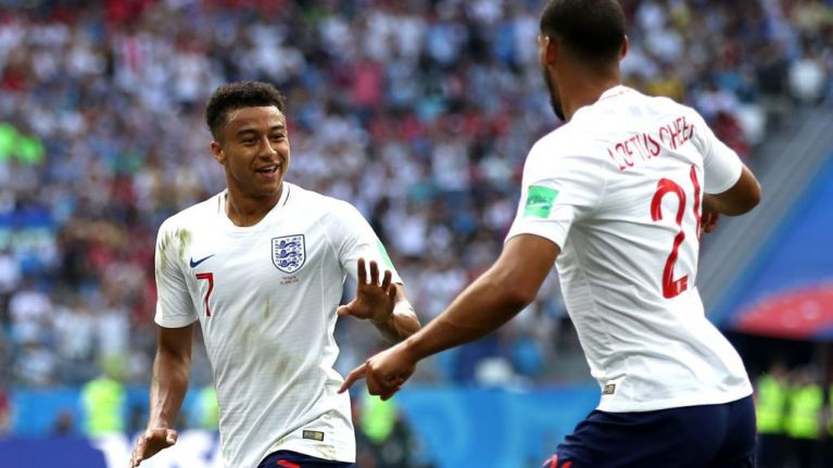 9ae761621c9 Paul Scholes suggests Gareth Southgate believes in Jesse Lingard more than  Jose Mourinho does