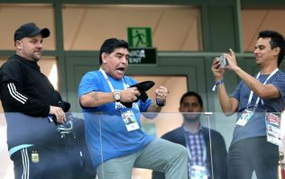 FIFA are paying Maradona an obscene amount of money to attend World Cup games