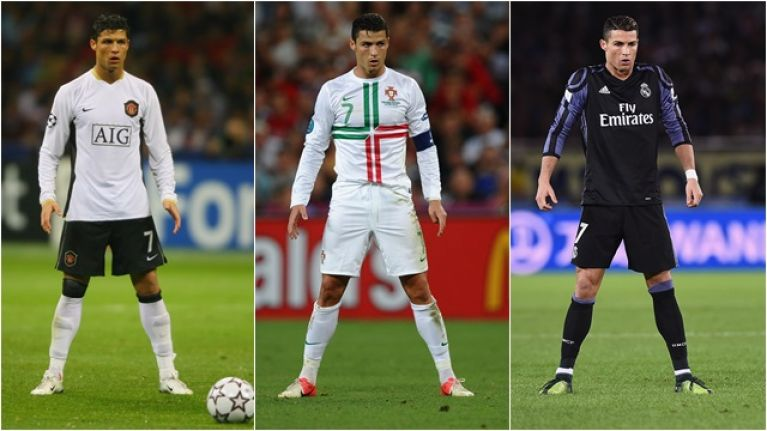 This Is Why Cristiano Ronaldo Takes Up His Trademark Stance Before