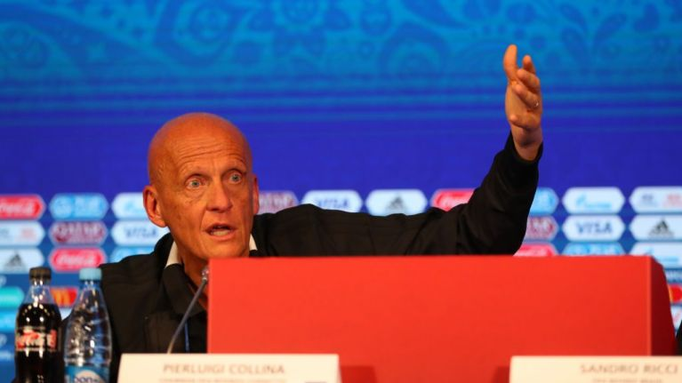 VAR system has been changed after criticism during World Cup, Collina confirms