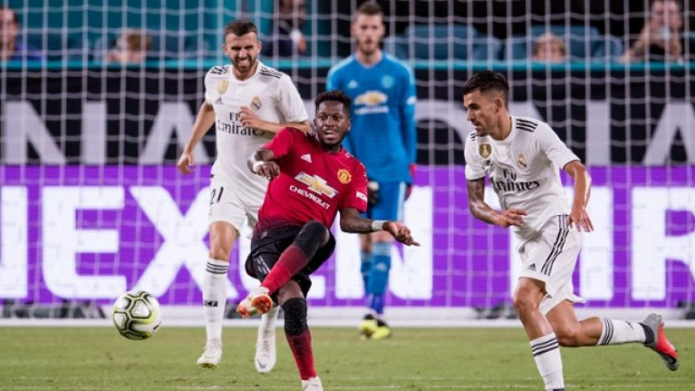 3574bc203 Man United fans all say the same thing about Fred s individual highlights  against Real Madrid