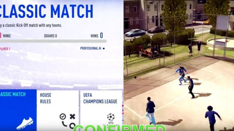 FIFA 19 will reportedly feature a 'house rules' mode involving forfeits for conceding goals