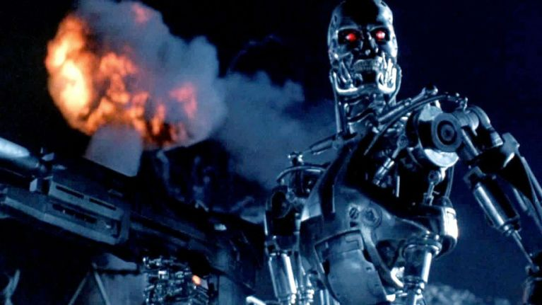 First official Terminator 6 photo shows that Sarah Connor is still a total badass