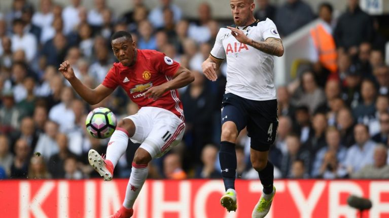 Anthony Martial and Toby Alderweireld '90% likely' to switch clubs before window ends