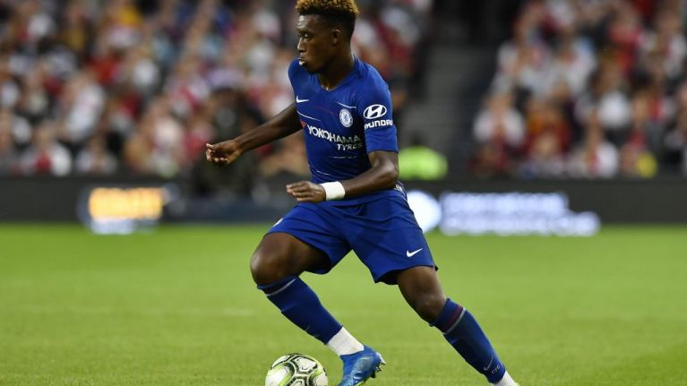 Chelsea fans are absolutely loving Callum Hudson-Odoi's performance against Arsenal