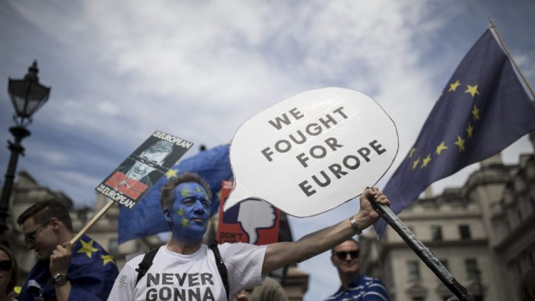 Over half-a-million people have now signed a petition calling for a second Brexit referendum