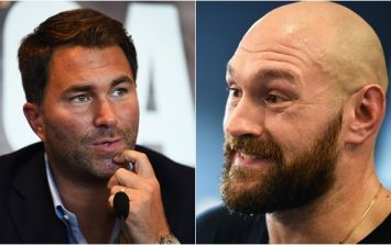 Eddie Hearn has a theory about why Tyson Fury claims he's fighting Deontay Wilder