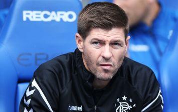 Steven Gerrard admits that Rangers midfielder made him jealous