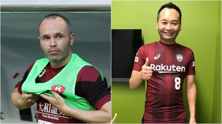 With Andres Iniesta out, FC Tokyo have decided to hire an unconvincing lookalike
