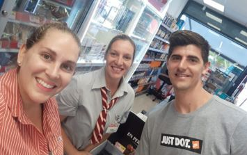 Thibaut Courtois spotted in Tenerife supermarket after not reporting to Chelsea training