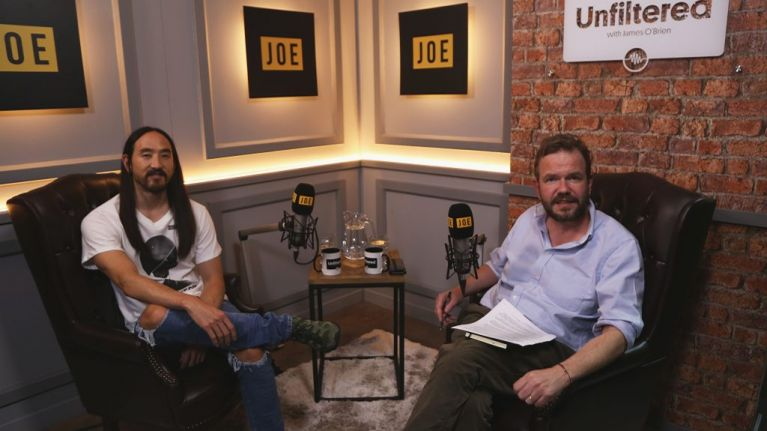 Unfiltered with James O'Brien   Episode 42: Steve Aoki