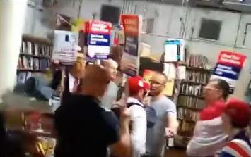 UKIP admit three 'idiotic members' involved in bookshop 'ambush'