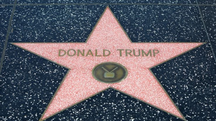 Donald Trump's star 'to be permanently removed' from Hollywood Walk of Fame