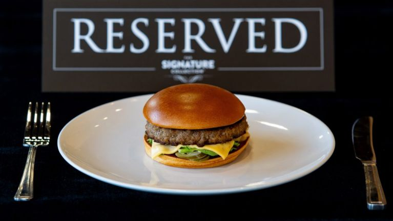 McDonald's is launching a VIP restaurant with butlers and a string quartet