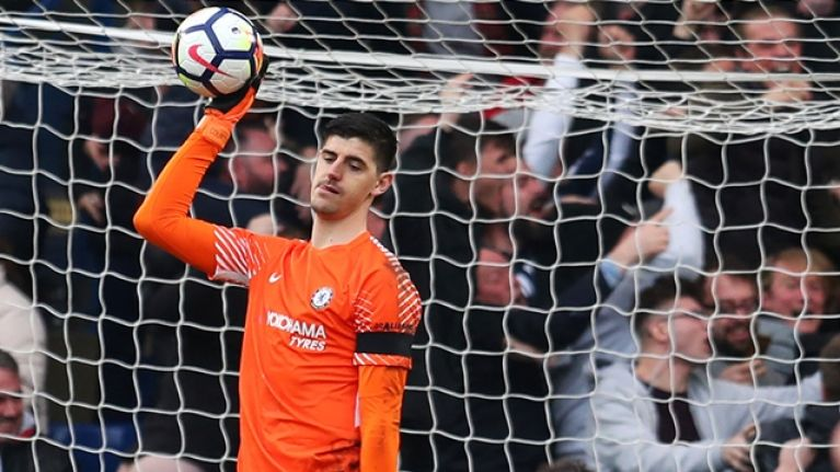 f9efbd6998e Thibaut Courtois quickly deletes message to Chelsea fans after Real Madrid  move is confirmed