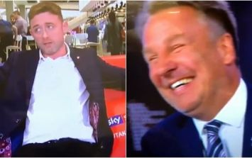 Paul Merson forced to watch as impressionist does bang on impersonation of him live on Sky Sports News