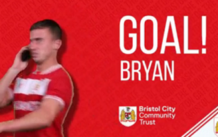 Bristol City post hilarious farewell goal gif to departed left-back Joe Bryan