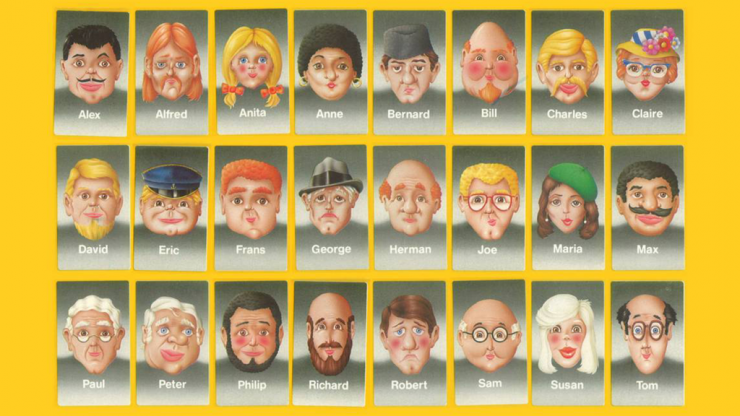 Ranking every Guess Who character from least to most horny