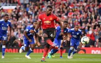 Paul Pogba's penalty run up got the response it deserved from fans