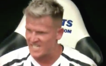 Matt Ritchie was the angriest man on Tyneside after being subbed against Spurs