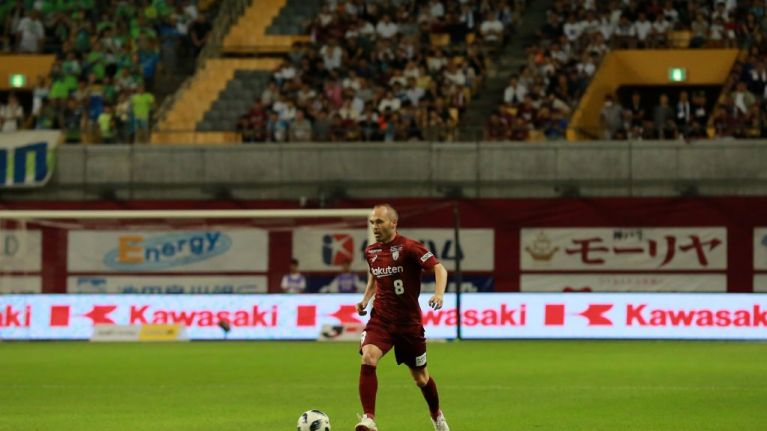 Andres Iniesta's first J-League goal was an absolute screamer