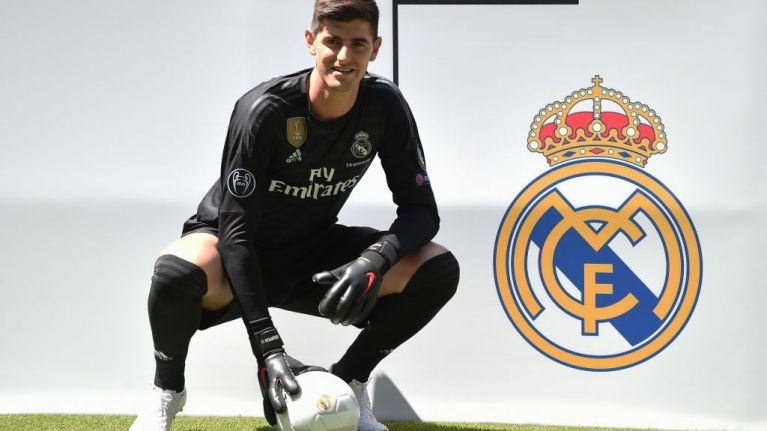 4eac118f1 Atletico Madrid fans vandalise Thibaut Courtois  plaque at stadium after  his move to Real Madrid