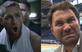 Eddie Hearn reacts to Conor McGregor and Katie Taylor shows clashing