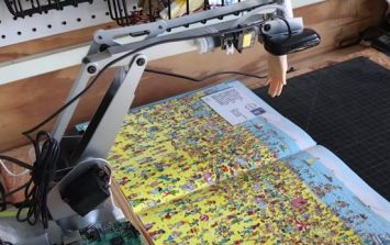 Someone built a terrifying robot specifically designed to find Wally in Where's Wally