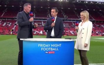 Jamie Carragher claims Manchester United reduced the size of away dressing room