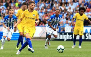 Jorginho's shinpads went down a treat ahead of his Premier League debut