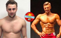 Bodybuilder transforms life after battling crippling depression