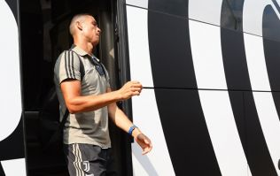 Cristiano Ronaldo is going to look right at home in Juventus' new away kit