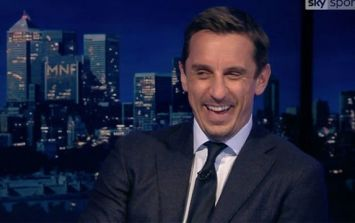 Gary Neville savages Arsenal supporter after Salford City jibe
