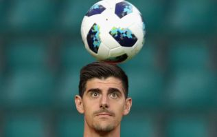 Thibaut Courtois set to miss out on Super Cup debut against Atletico Madrid